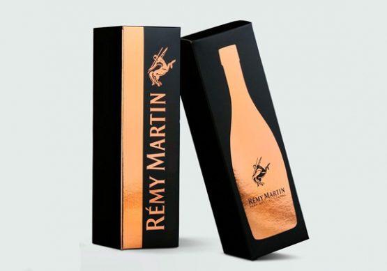 Custom designed bottle packaging